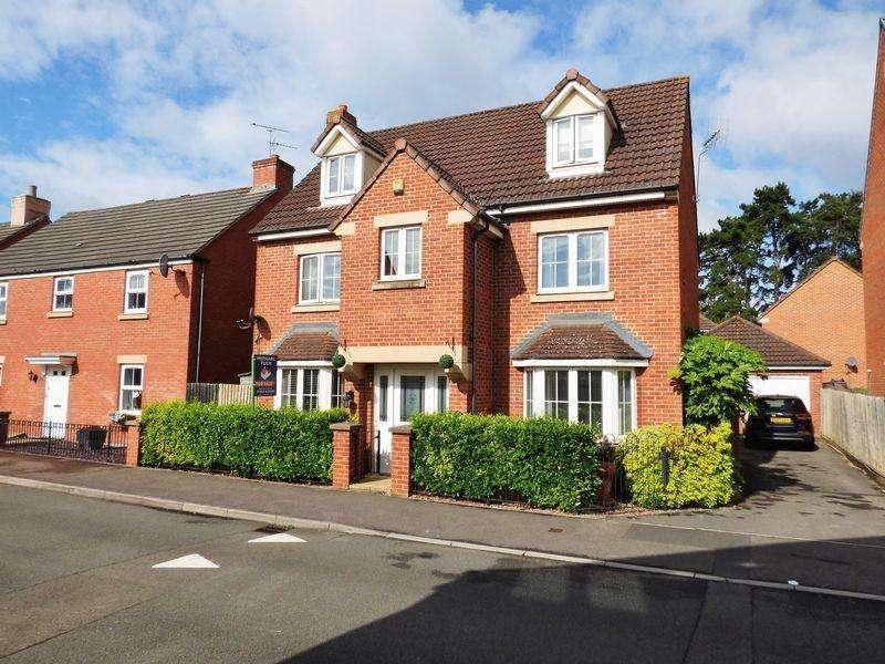 5 Bedrooms Detached House for sale in Carwardine Field, Abbeymead, Gloucester