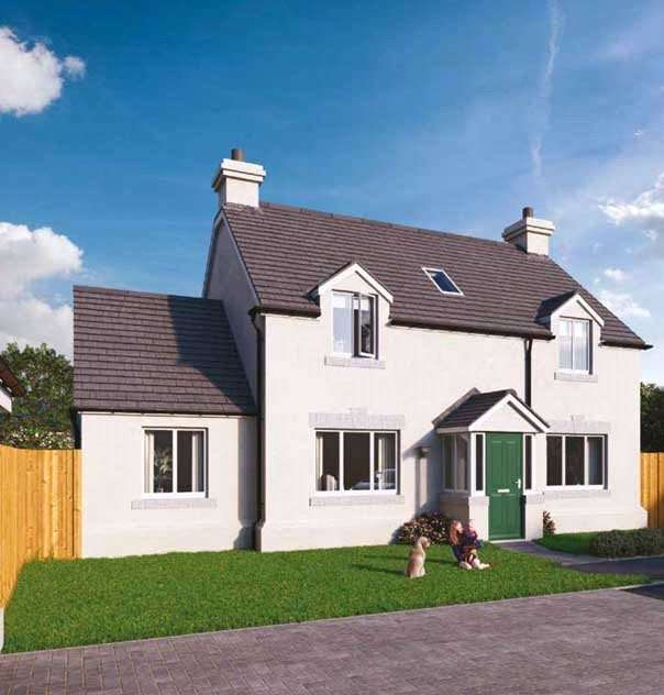 4 Bedrooms Detached House for sale in Plot 9 The Grove, Land South Of Kilvelgy Park, Kilgetty, Pembrokeshire