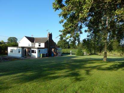 4 Bedrooms Detached House for sale in Back Lane, Shavington, Crewe, Cheshire