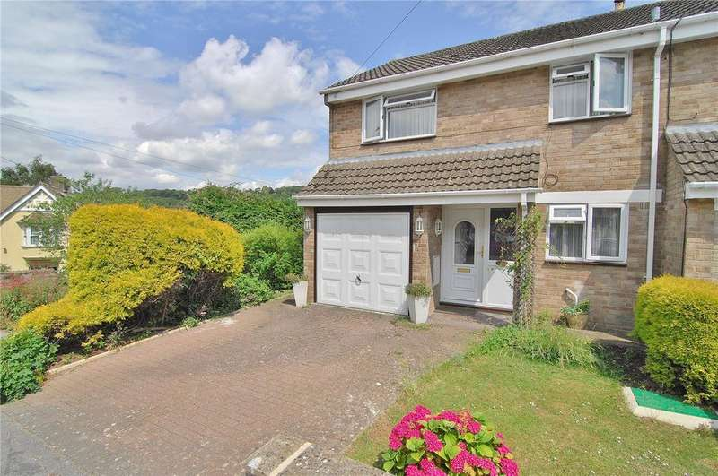 3 Bedrooms End Of Terrace House for sale in Churchill Road, Nailsworth, Stroud, Gloucestershire, GL6