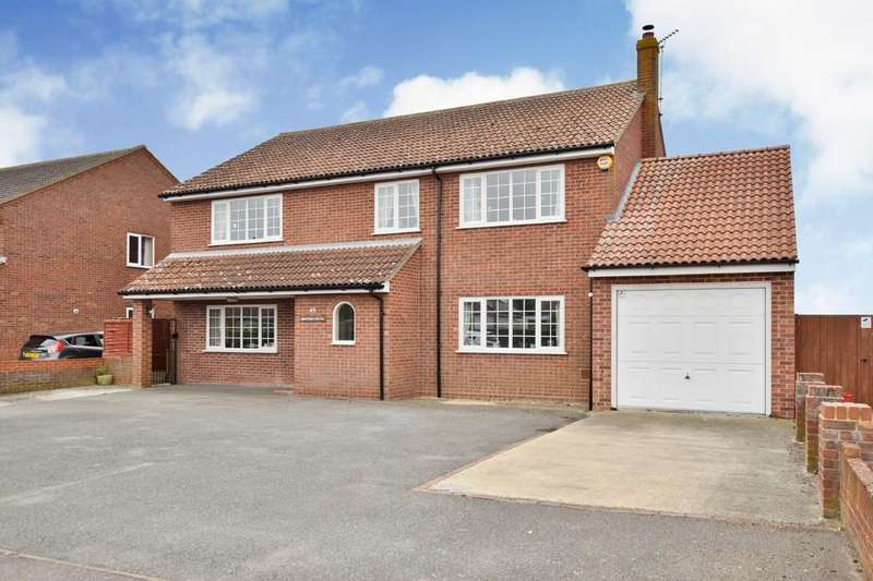 4 Bedrooms Detached House for sale in Oakley Road, Dovercourt, Harwich