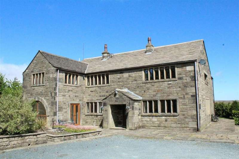 6 Bedrooms Detached House for sale in Strines Clough Farm, Off Brown Hill Lane, Hebden Bridge