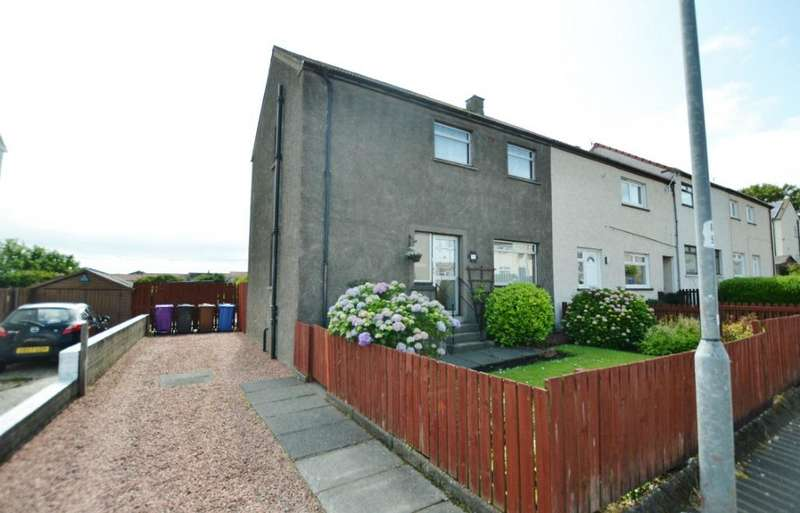 4 Bedrooms Semi Detached House for sale in Hyslop Road, Stevenston, North Ayrshire, KA20 4HP