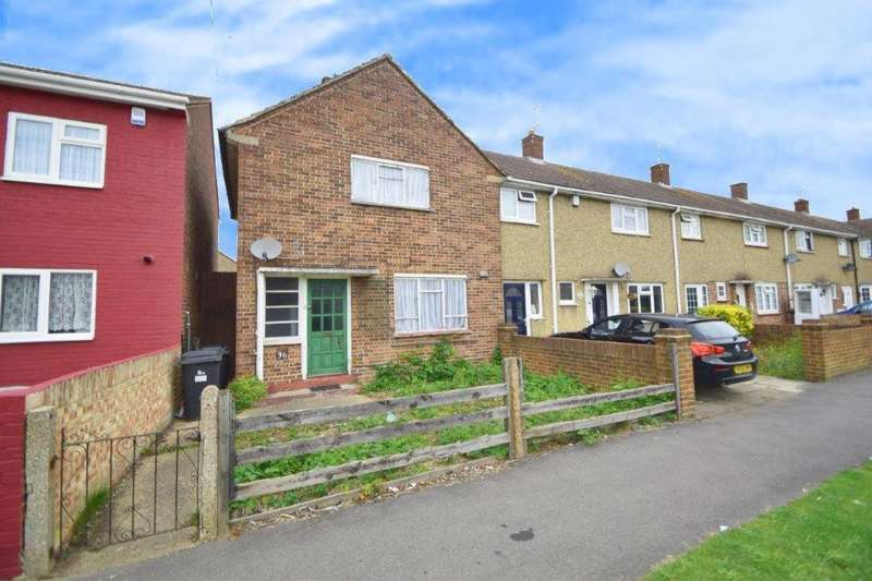 2 Bedrooms End Of Terrace House for sale in Berryfield, Slough, SL2