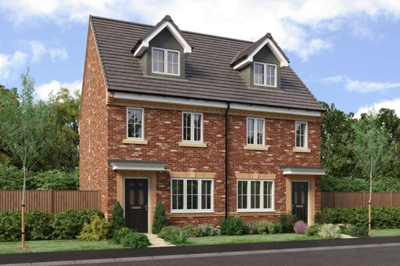 3 Bedrooms Semi Detached House for sale in The Landings, Coppull, Chorley, Lancashire, PR7