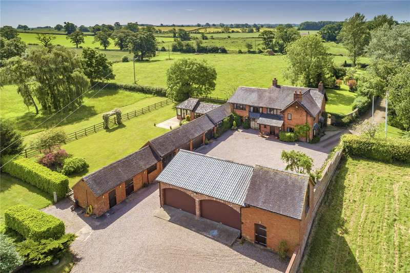 4 Bedrooms Detached House for sale in The Pheasantry, Orslow, Newport, Staffordshire, TF10