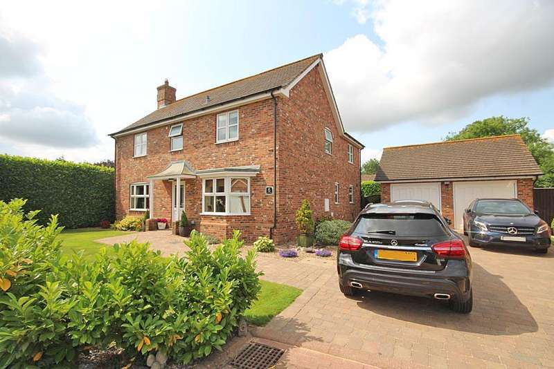 4 Bedrooms Detached House for sale in JACOBS CLOSE, UTTERBY