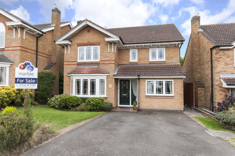 4 Bedrooms Detached House for sale in Fox Road, Castle Donington