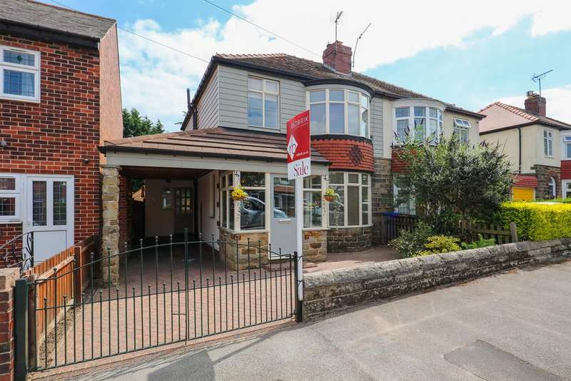 3 Bedrooms Semi Detached House for sale in Old Park Road, Beauchief