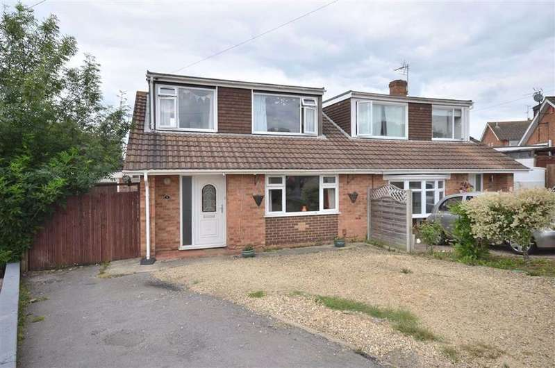 3 Bedrooms Semi Detached House for sale in Althorp Close, Tuffley, GL4
