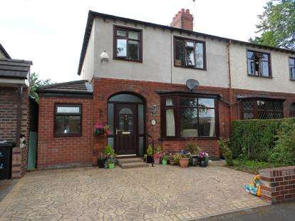 3 Bedrooms Semi Detached House for sale in Menin Avenue, Warrington, Cheshire