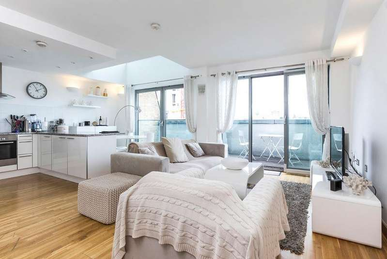 2 Bedrooms Flat for sale in Saffron Hill, London, EC1N