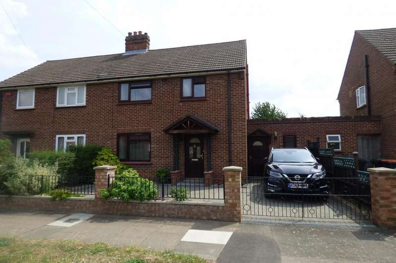 3 Bedrooms Semi Detached House for sale in Bedford, Beds, MK42 9UH