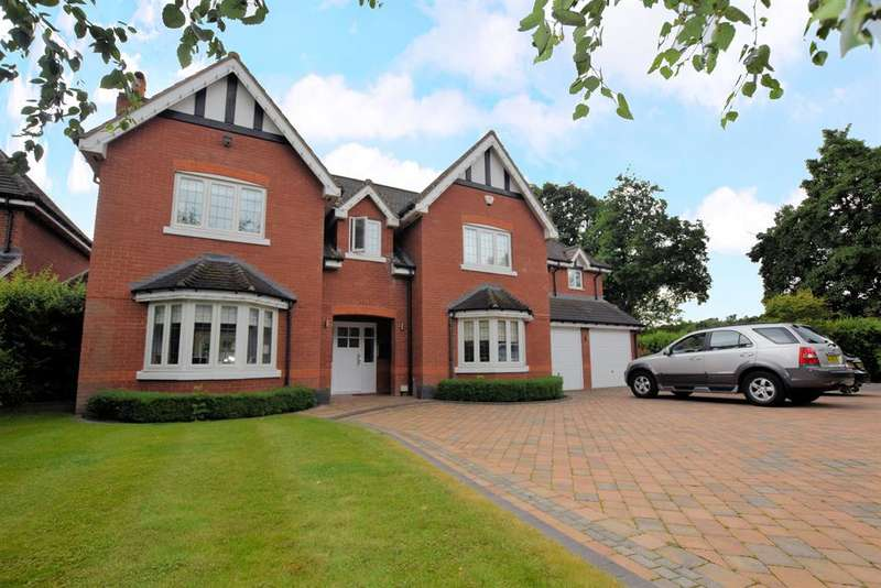 5 Bedrooms Detached House for sale in Streetsbrook Road, Solihull, B91 1RN