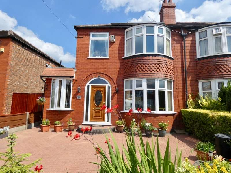 3 Bedrooms Semi Detached House for sale in Cloister Road, Stockport, Greater Manchester, SK4