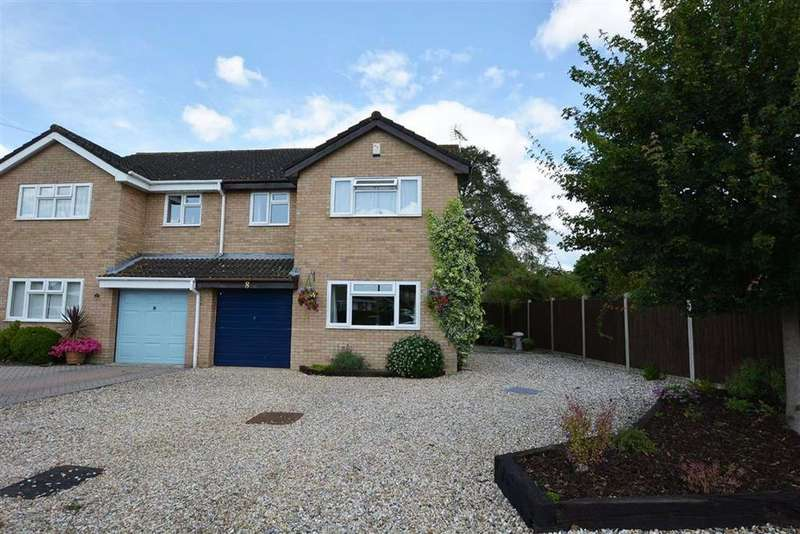 4 Bedrooms Semi Detached House for sale in Curtis Hayward Drive, Quedgeley