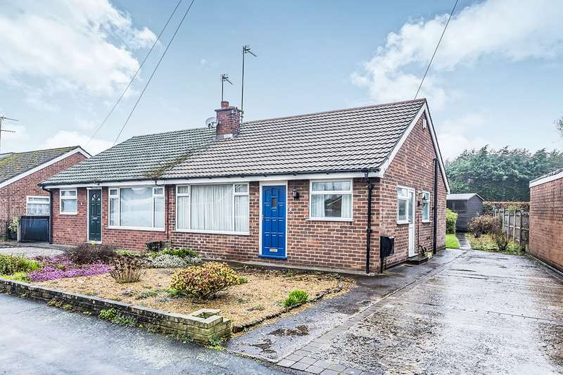 2 Bedrooms Semi Detached Bungalow for sale in Alumbrook Avenue, Holmes Chapel, Crewe, CW4