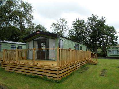2 Bedrooms Mobile Home for sale in Garsdale Road, Sedburgh, Cumbria, LA10