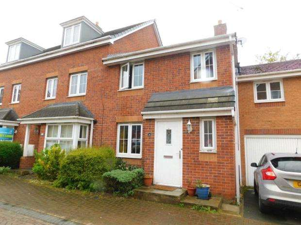4 Bedrooms Town House for sale in Jackson Avenue, Nantwich, Cheshire