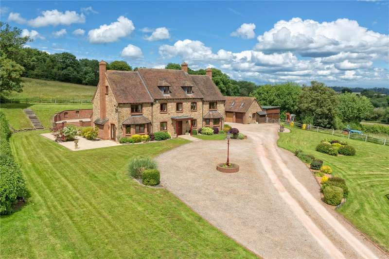 7 Bedrooms Detached House for sale in Cleedsmore Farm, Astbury Lane, Eardington, Bridgnorth, Shropshire, WV16