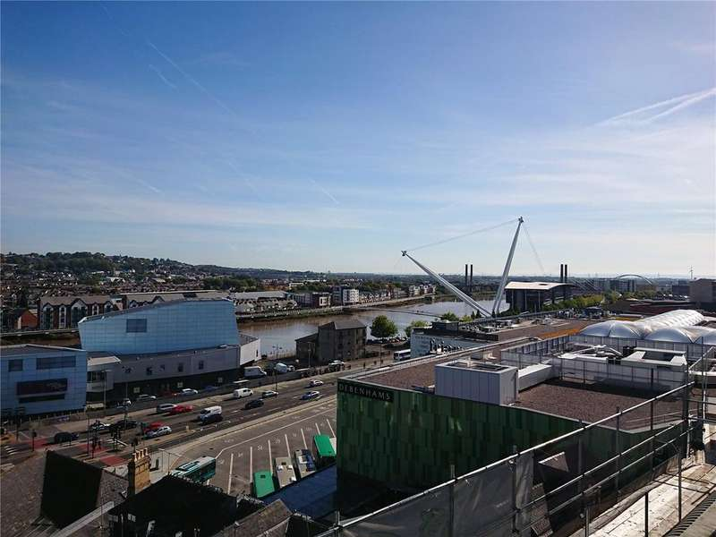 1 Bedroom Flat for sale in Olympia House, Upper Dock Street, Newport, Gwent, NP20