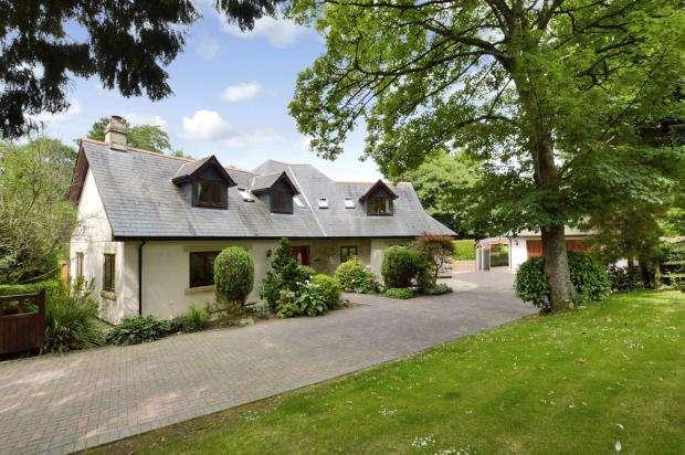 4 Bedrooms Detached House for sale in Springfield Park, Buckfastleigh, Devon