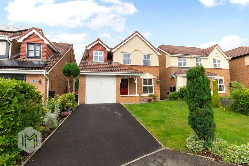 3 Bedrooms Detached House for sale in Wellburn Close, Bolton, Greater Manchester, BL3