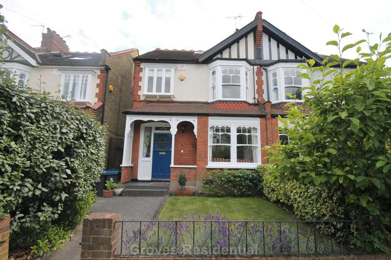 4 Bedrooms Semi Detached House for sale in Hillbrow, New Malden
