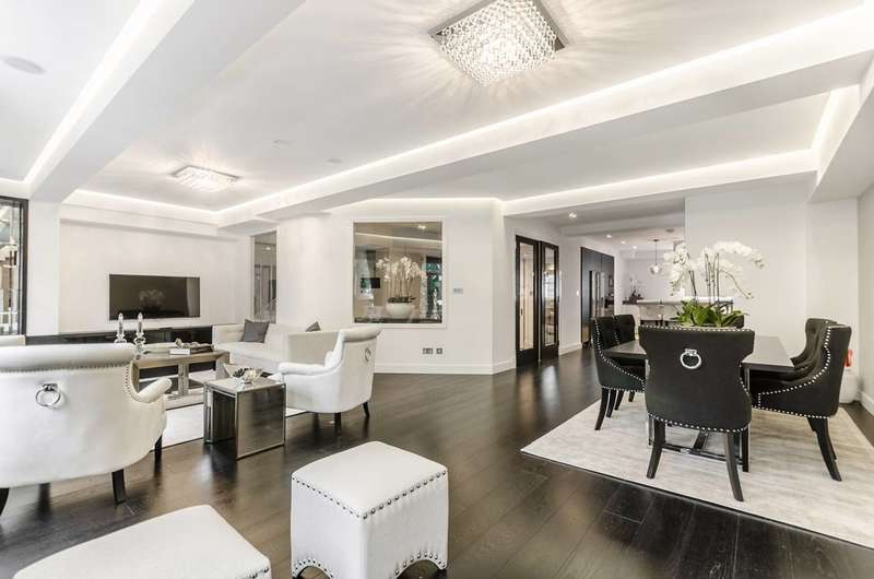 3 Bedrooms Maisonette Flat for rent in Queens Gate, South Kensington, SW7