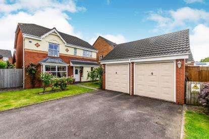 4 Bedrooms Detached House for sale in Rushes Mill, Pelsall, Walsall, West Midlands