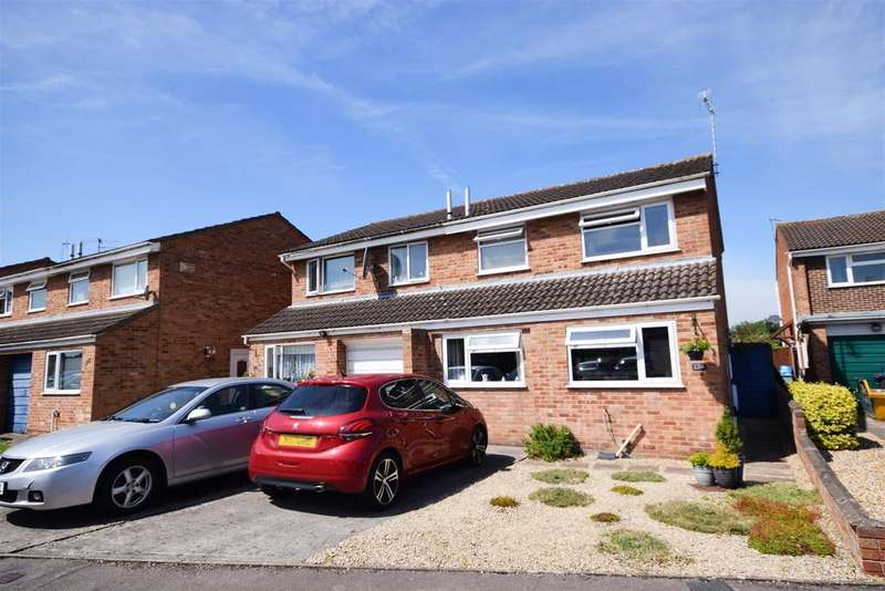 3 Bedrooms Semi Detached House for sale in Church Drive, Quedgeley, Gloucester