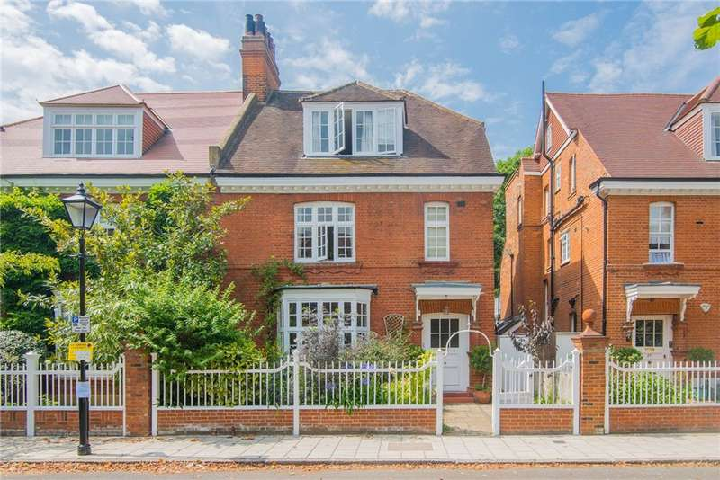 5 Bedrooms Semi Detached House for rent in Priory Avenue, Chiswick, W4