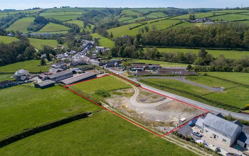 Land Commercial for sale in Development Land at Lleine Cynwyl Elfed, Carmarthen, Carmarthenshire. SA33 6SP