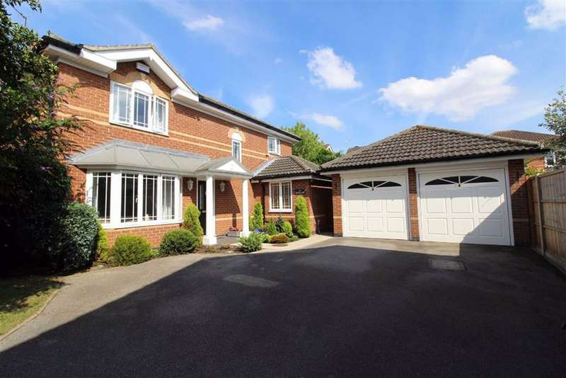 4 Bedrooms Detached House for sale in Spindlewood, Elloughton, Elloughton Brough, Hull