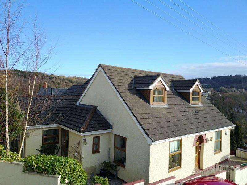 4 Bedrooms Detached House for sale in with Self Contained Studio, Parkhill, Whitecroft, Lydney, Gloucestershire. GL15 4PQ