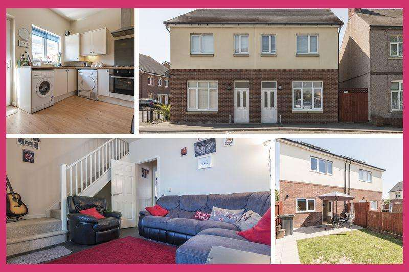 2 Bedrooms Semi Detached House for sale in Turner Street, Newport - REF # 00004454