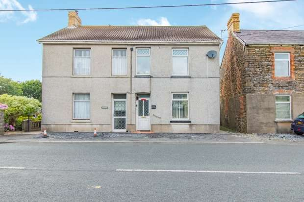 3 Bedrooms Semi Detached House for sale in Carway, Kidwelly, Dyfed, SA17 4HS