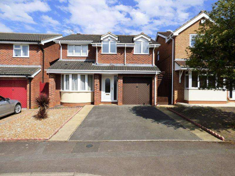 4 Bedrooms Detached House for sale in Broad Leys Road, Barnwood, Gloucester