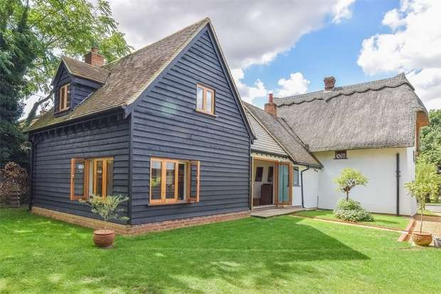 4 Bedrooms Detached House for sale in Ford End, Chelmsford, Essex