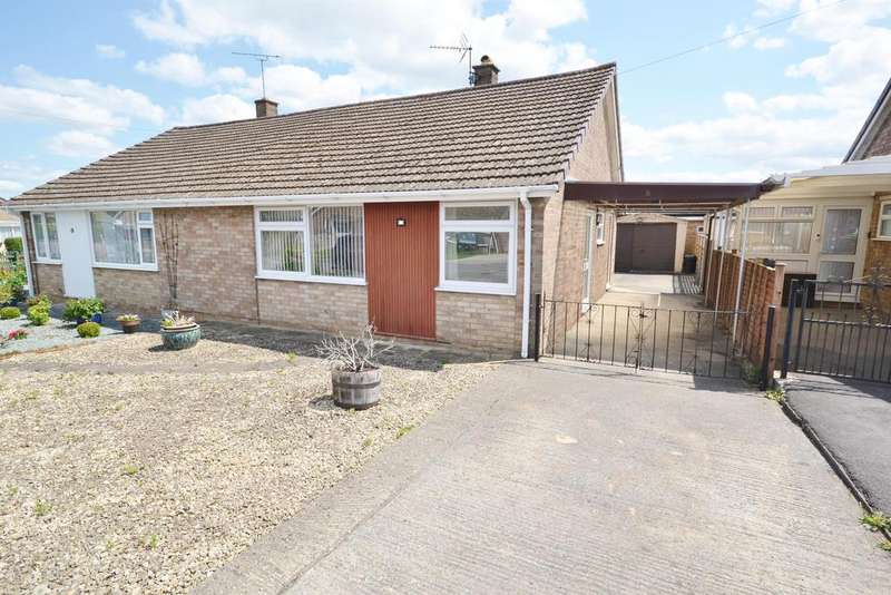 2 Bedrooms Semi Detached House for sale in Stonelea, Dursley, GL11 6LG