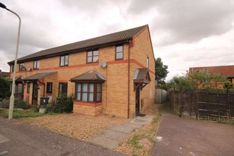 3 Bedrooms End Of Terrace House for sale in Columbine Close, Bedford, MK41