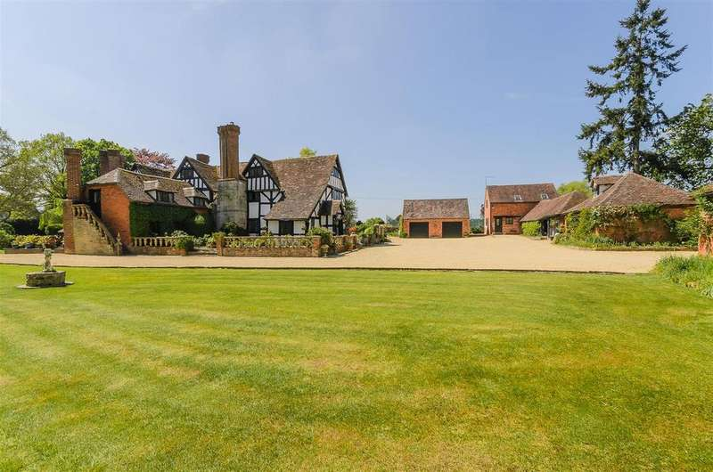 5 Bedrooms Country House Character Property for sale in Harrow Lane, Himbleton, Droitwich Spa, Worcestershire