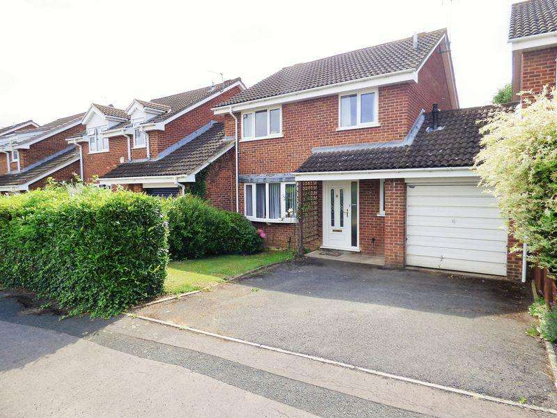 4 Bedrooms Detached House for sale in Skylark Way, Abbeydale, Gloucester