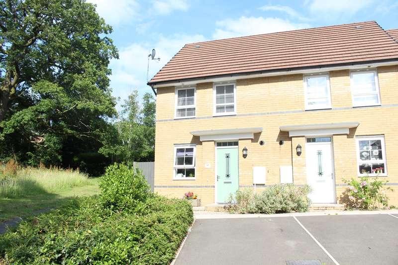 2 Bedrooms Semi Detached House for sale in John Jobbins Way, Penygarn, Pontypool, NP4