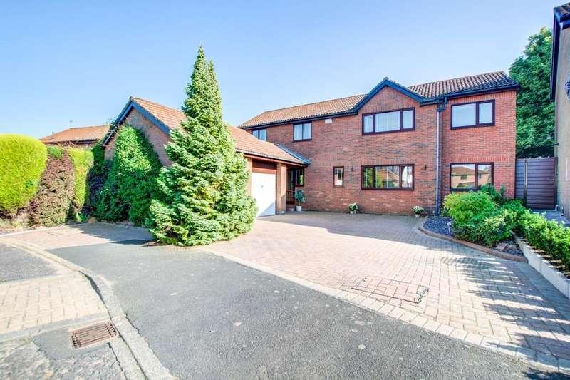 4 Bedrooms Detached House for sale in Celandine Close, Whitebridge Park, Newcastle Upon Tyne, NE3