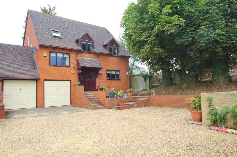 4 Bedrooms Detached House for sale in Poplars Close, South End, Preston Bissett