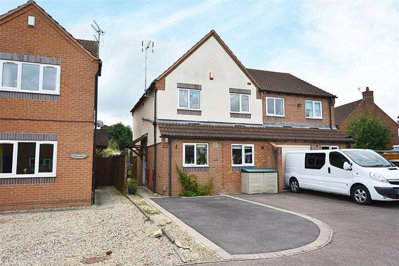 3 Bedrooms Semi Detached House for sale in Pendock Close, Quedgeley