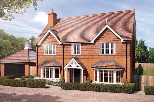5 Bedrooms Detached House for sale in Gardners Hill Road, Farnham, Surrey