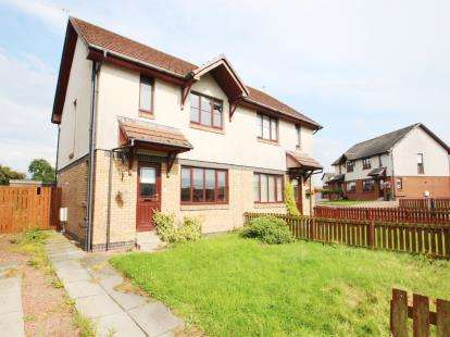 3 Bedrooms Semi Detached House for sale in Buntens Close, Cumnock