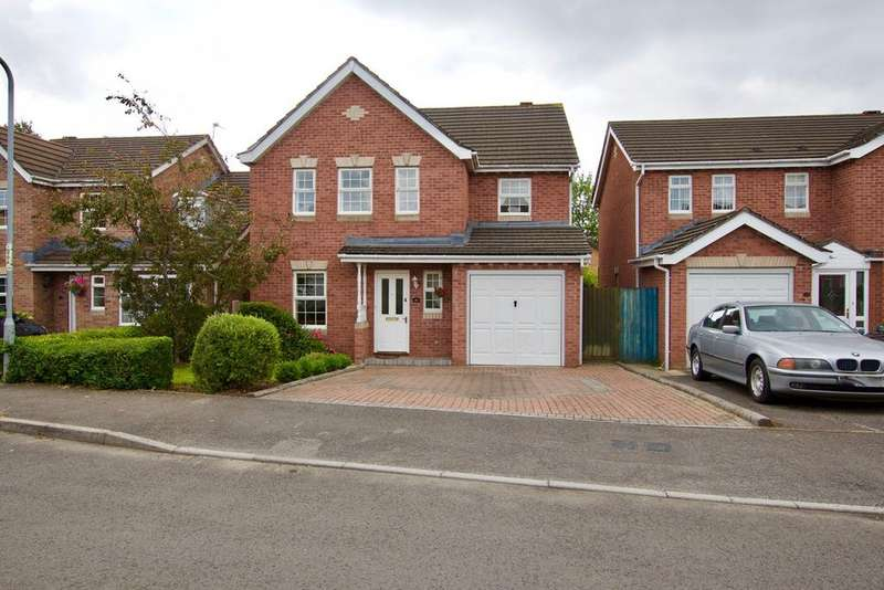 4 Bedrooms Detached House for sale in Cowleaze, Magor, MAGOR, NP26